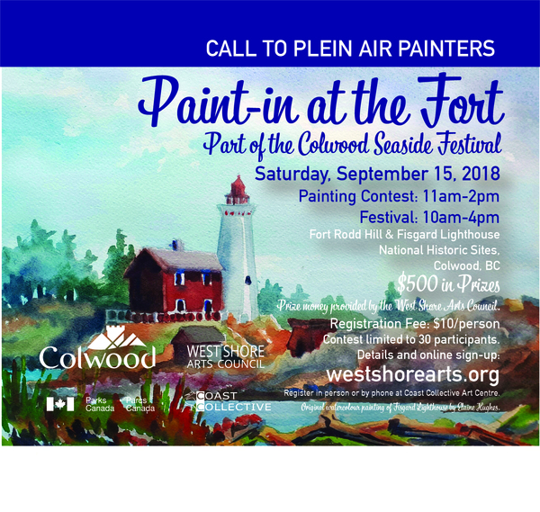 Paint-In at the Fort