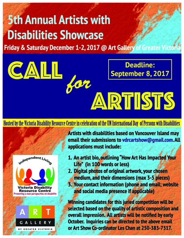 5th Annual Artists with Disabilities Showcase