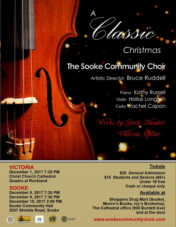 A Classic Christmas with The Sooke Community Choir