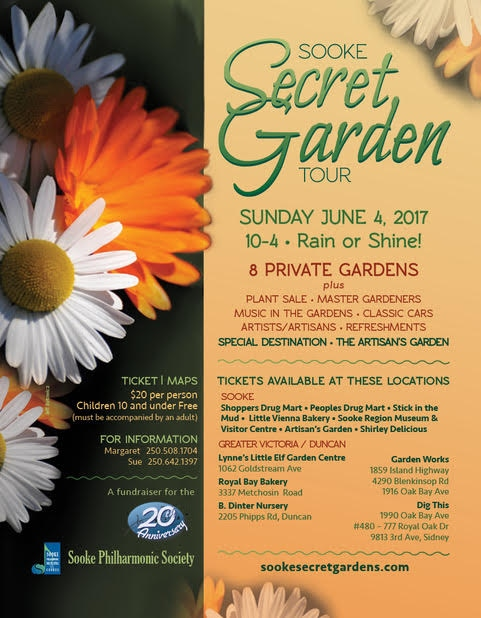 Sooke Secret Garden Tour