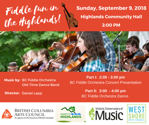 Fiddle fun in the Highlands!
