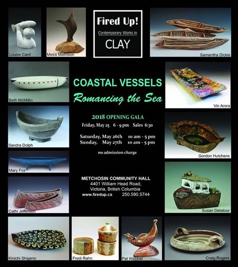 Fired Up! Ceramic Artists: Contemporary Works in Clay 2018