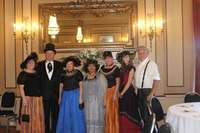 WSAC directors and members in period costume