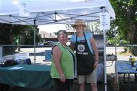 Colleen Brownlee & Mary Gidney catered to the hungry crowd