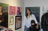 WSAC director Grace Scott and her artist daughter