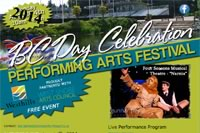 BC Day Festival of the Performing Arts
