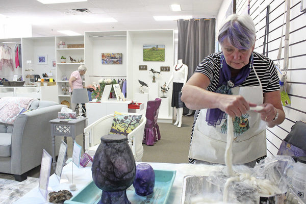 Art comes to West Shore Town Centre in Langford