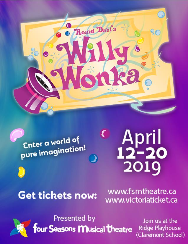 Willy Wonka by Four Seasons Musical Theatre