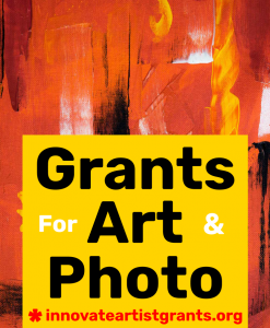 Call for Artists & Photographers Spring 2019 - Innovate Grant