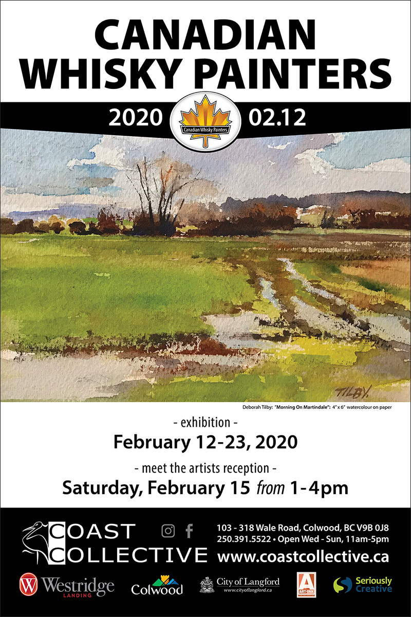 Canadian Whisky Painters 2020 Exhibition