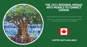 Mural Mosaic Project BC - WSAC sponsors 40 canvases!